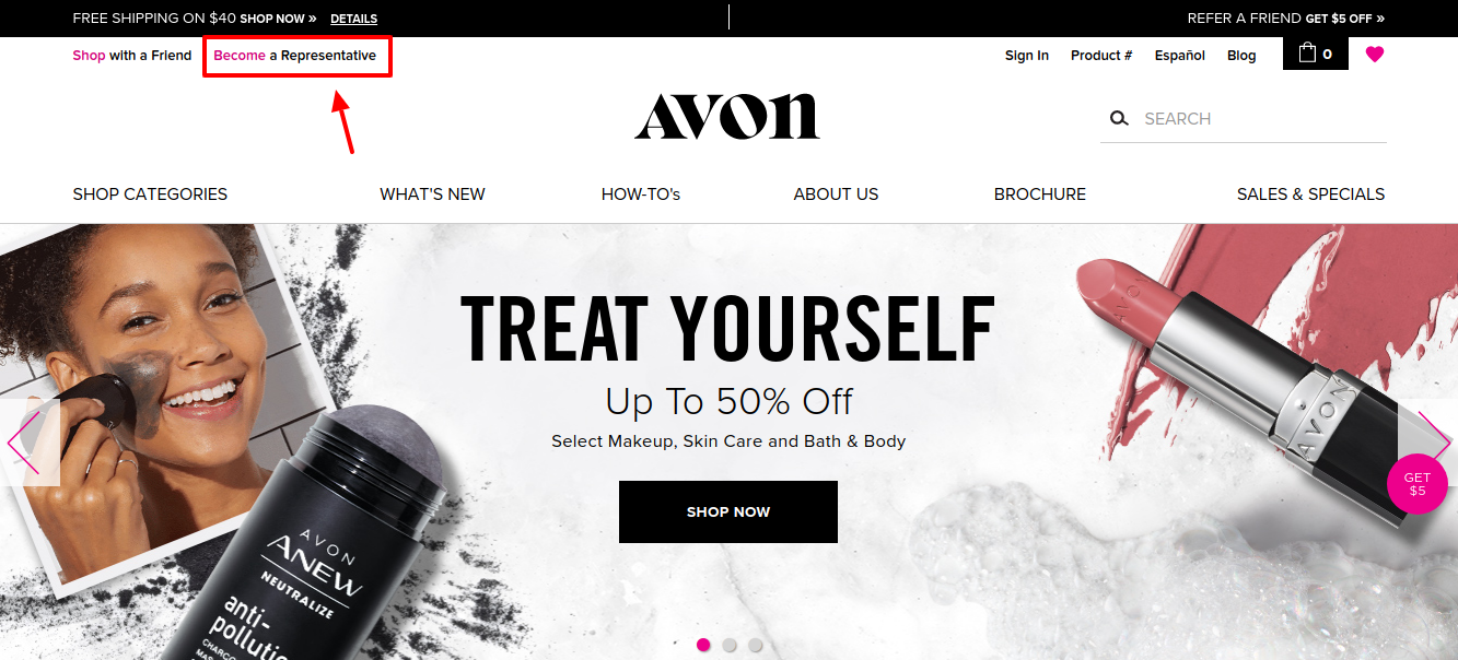 AVON Become a represntive