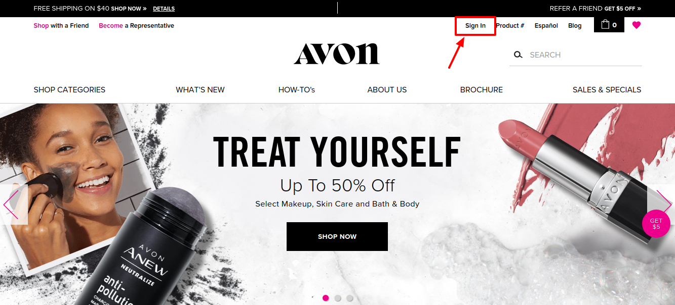 AVON Sign In